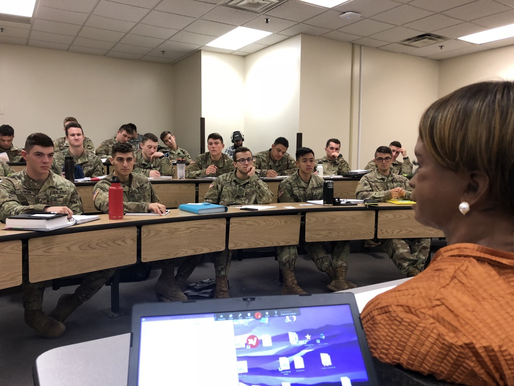 Bina48 Guest Lecturer at WestPoint Military Academy...